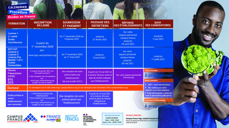 Calendrier Dcg 2022 LE CALENDRIER DE LA PROCÉDURE | Campus France