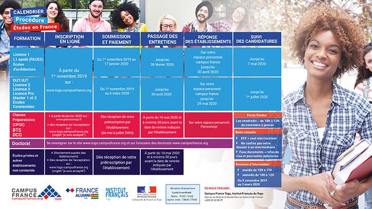 Calendrier Lancement Ariane 2021 LE CALENDRIER DE LA PROCÉDURE | Campus France